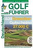 """Golf Führer 2015/2016 """"839 Greenfeegutscheine und ein 50 Euro Reisegutschein"""""""