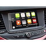 LFOTPP Opel Astra 5 Puertas/Astra Sports Tourer/Nuevo Crossland X/Grandland X 2017 7 pulgadas Navegación–Protector de pantalla para 9H Resistente a los arañazos–Antihuellas Sistema de navegación Protector de pantalla GPS Navi–Protector de pantalla