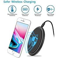 Lanspo Für iPhone X/Wireless QI Schnelles Ladegerät Lade Ständer Halter