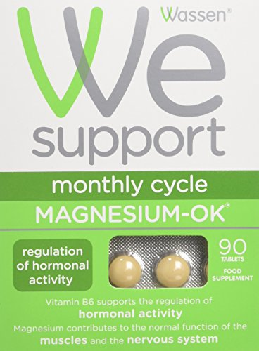 Wassen We Support Monthly Cycle Magnesium-OK – 90 Tablets