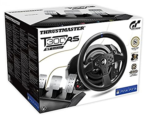 Thrustmaster T300 RS GT Edition (Lenkrad inkl. 3-Pedalset, PS4 / PS3 / PC) (Ps4 Edition)