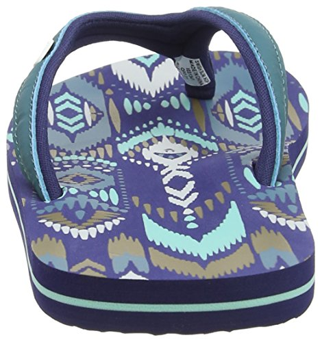 Animal Damen Swish Slim Aop Durchgängies Plateau Sandalen Blau (Sea Blue)