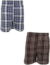 Pantalones de pijama cortos para hombre (paquete de 2)