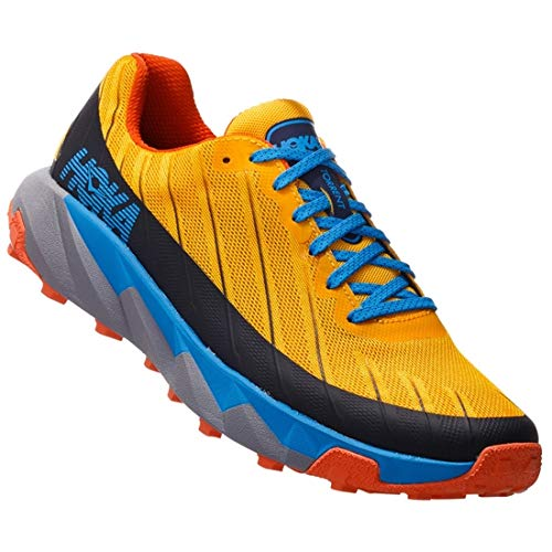 Zapatillas Trail Hoka Torrent Amarillo/Azul Talla 41 1/3