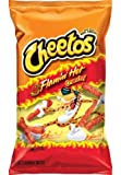 Frito Lay Cheetos Flaming Hot Crunchy King Size (Pack of 2), 99.2g