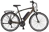 "Prophete ENTDECKER e9.6 Trekking E-Bike 28"" Herren Elektrofahrrad dunkelbraun matt RH 52 cm"