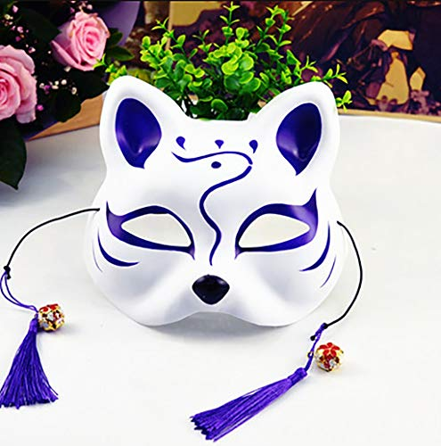 Masquerade Halbmasken - Mascarade Halbmaske aus PVC-Kunststoff, handbemalte