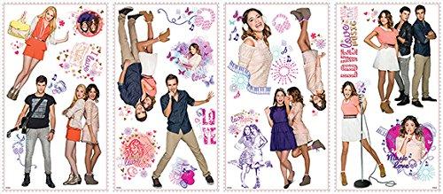 roommates-539057-adesivo-in-vinile-riposizionabile-con-vari-elementi-decorativi-motivo-disney-violet