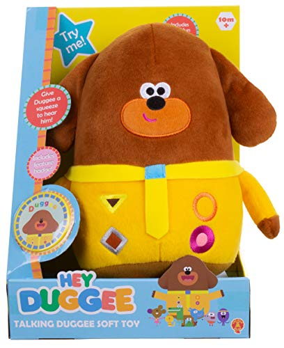 """Duggee - Electronic Talking Toy - Hey Duggee - 23cm 10"""""""