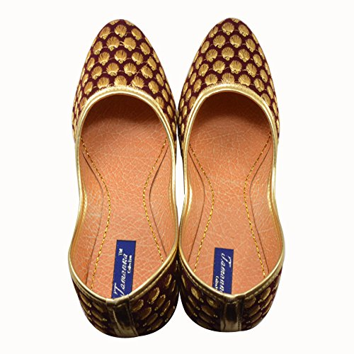 Tamanna Star Bellies Gold Juti For Girls  available at amazon for Rs.208