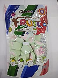 Captain Fruit Marshmallow (Halal) Watermelon Shape, 200g
