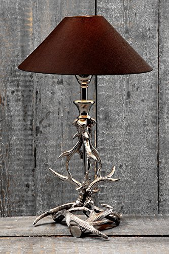 Lampe Geweih H54cm Material: Aluminium,