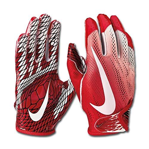 Nike Vapor Knit 2.0 Design 2018 Receiver Handschuhe - rot/weiß Gr. L