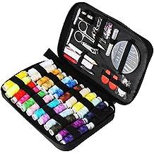 TUXWANG Kit Cucito Set da Cucito con Accessori da Cucire da 90 Pezzi con  Custodia per Trasporto bb4d9507d319