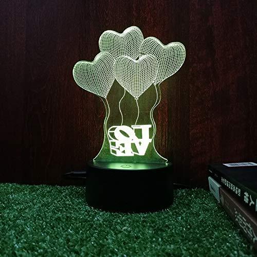 Led nachtlicht Schlafzimmer nachttischlampe warm kreativ niedlich USB stecker Radio licht praktische neuheit mädchen Geschenke zu senden