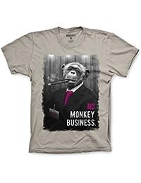 Varsity Punk Monkey Business T-Shirt
