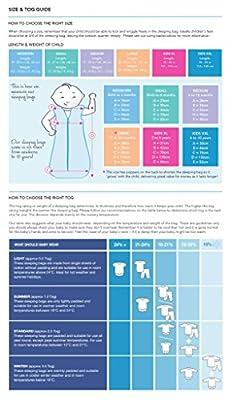 Slumbersac - Saco de dormir de invierno para bebé (peso aproximado 3.5 tog, tallas de 0 meses a 6 años), diseño de estrellas