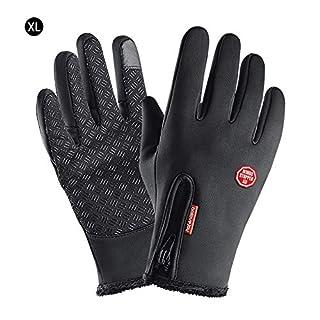 AIHOME Winter Handschuhe Warme Radfahren Touchscreen Wasserdicht Winddicht Motorrad Handschuhe Thermische Handschuhe für Ski Outdoor Camping Laufen Fahren Motorrad Snowboard