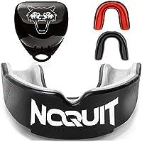 NOQUIT Premium Mundschutz - schnell Anpassbar & Fester Sitz Garantiert - perfekt für Kampfsport - Zahnschutz Boxen & MMA