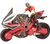 BANDAI Power Rangers - Moto Samourai + figura 10 cm (conjunto) + Power Rangers - Morpher Samurai + Power Rangers - Espada Samurai
