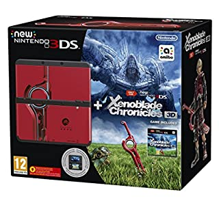 New Nintendo 3DS - Consola, Color Negro + Xenoblade Chronicles 3D + Cubierta Xenoblade Chronicles 3D (B00XCVLFVW) | Amazon price tracker / tracking, Amazon price history charts, Amazon price watches, Amazon price drop alerts