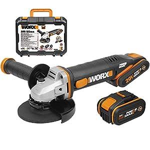 WORX WX803 – Amoladora 125mm 20V 2Ah+4Ah