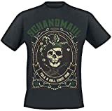 Photo de Schandmaul Folk N Roll T-Shirt Manches Courtes Noir par Schandmaul