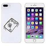 Weiß 'Fliegender Teppich' Hülle für iPhone 7 Plus (MC00145976)