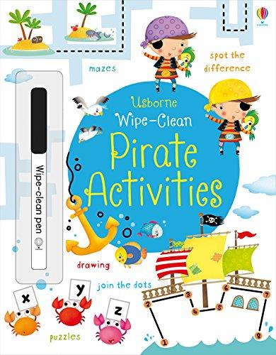 Wipe-Clean Pirate Activities (Wipe-clean Books)