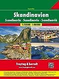Freytag Berndt Autoatlanten, Skandinavien Superatlas, Spiralbindung - Maßstab 1:250 000 - 1:400 000