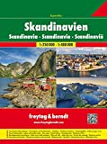 Skandinavien Superatlas, Autoatlas 1:250 000 - 1:400 000, Norwegen, Schweden, Dänemark, Finnland (freytag & berndt Autoatlanten) - Freytag-Berndt und Artaria KG
