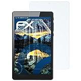 atFolix Schutzfolie kompatibel mit Archos 80 Cesium Panzerfolie, ultraklare & stoßdämpfende FX Folie (2X)