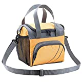 FATMUG Insulated Lunch Bags with Zip for Office Women and Men - Tiffin