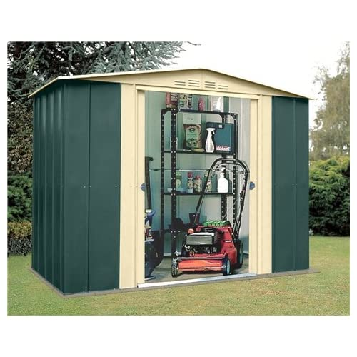 Oslo 8FT x 5FT PREMIER EIGHT METAL SHED (1.83m x 0.92m)