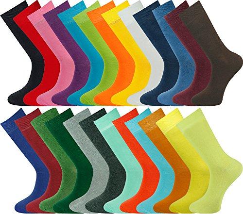 Mysocks Unisex 5 Pairs Ankle Socks Plain