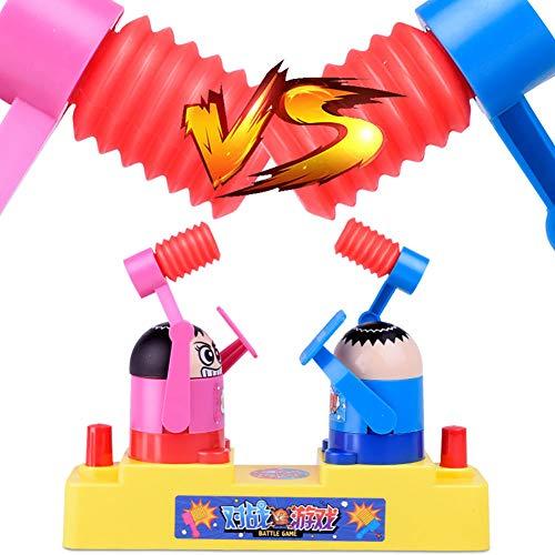 0Miaxudh Kinder Schlacht Spiel Spielzeug, Neuheit Schlacht Roboter Hammer Schlagen Verteidigung Spiel Dekomprimieren Kinder Interaktive Spielzeug