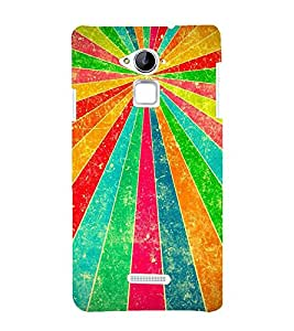 Multiple Color Projection 3D Hard Polycarbonate Designer Back Case Cover for Coolpad Note 3