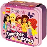 "Lego Friends Brotdose ""Together we succeed (Gemeinsam gelingt es uns)"" Lunchbox"
