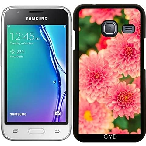 Funda para Samsung Galaxy J1 Mini (SM-J105) - Dalias Rosadas Flores Floral by Petra