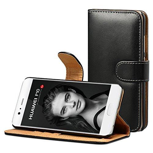 Huawei P10 Hülle, ViViSun Wallet Ledertasche mit Standfunktion und Karte Halter Schutzhülle Tasche für Huawei P10