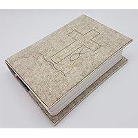 Gotteslob-/Gebetsbuch Hülle aus Wollfilz handmade in Deutschland, passend für Ausgaben ab 2013