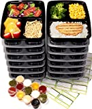 Best Fit & Fresh Freezer Packs - Chef Fresh Packs Meal Prep Container 16-Pack | Review