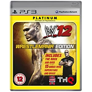 WWE 12: Wrestlemania Edition (PS3)