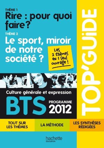 TOP'Guide - Culture générale et expression BTS