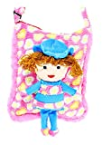 Tickles Pink Smiling Doll School Sling B...