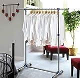Oramics Kleiderständer ausziehbar 87 cm bis 150 cm und mit