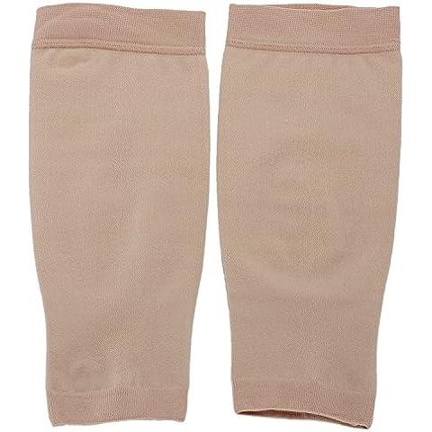 Pinzhi - Muchachas Mujeres Elástica Medias de Compresión para Pantorrillas Calcetines