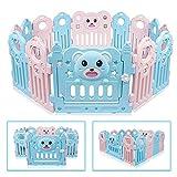 Besrey 3D Bear Box per Bambini Grande Sicurezza Barriera Recinto - 14...