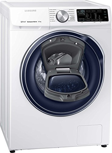 Samsung WW6800 QuickDrive WW81M642OPW/EG Waschmaschine Frontlader / A+++ / 1400UpM / 8kg / AddWash / SchaumAktiv-Technologie / FleckenIntensiv-Option / SmartControl 2.0/Amazon Dash Replenishment fähig