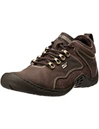 Gliders (From Liberty) Men's Wilson Brown Leather Sneakers - 9 UK/India (43 EU)